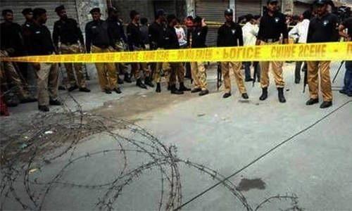 Bombs containing 10kgs of explosives were hidden in motorcycle fuel tanks, says police. — File
