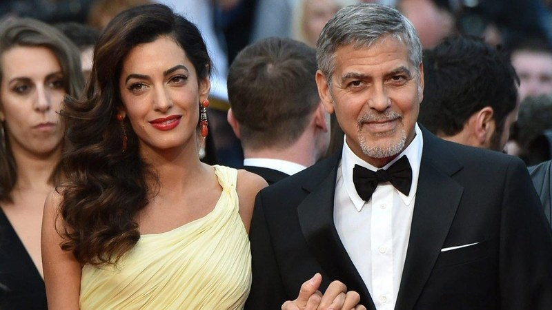 Amal Clooney and George Clooney Donates $1Million To Fight Hate Groups