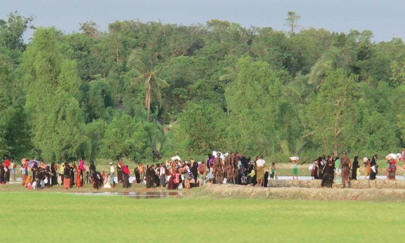 Police, army base attacked in Myanmar
