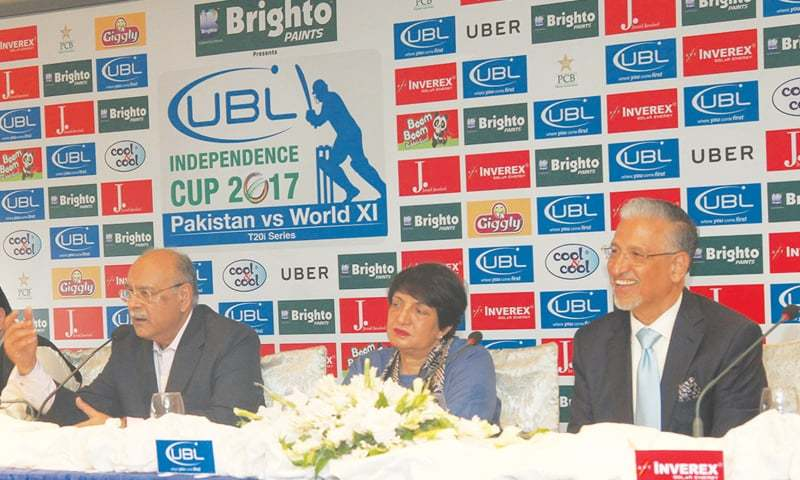 Online tickets for T20 matches of World XI sold out