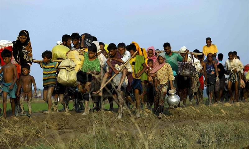"""Several members called for an open meeting on """"the catastrophe that is befalling Rakhine state and the Rohingya there.""""  — AFP Photo/File"""