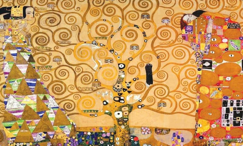 'The Tree of Life' by Gustav Klimt