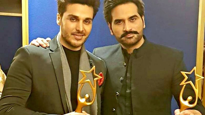 Ahsan Khan and Humayun Saeed with their IPPAs