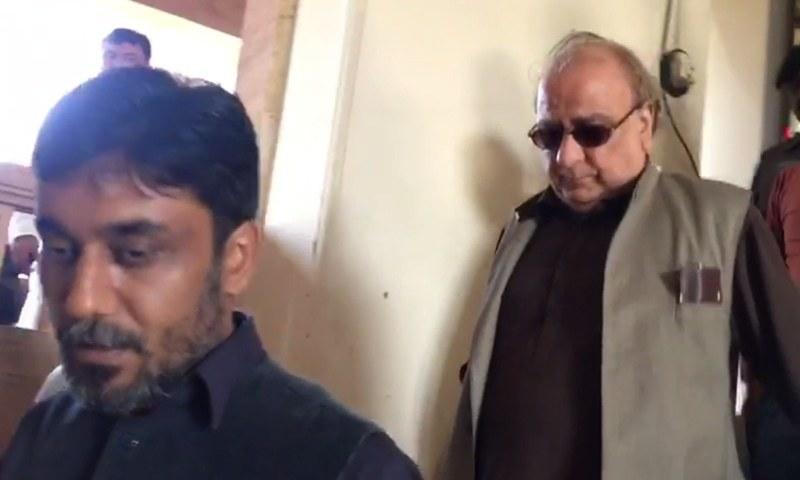 Former National Bank of Pakistan president Syed Ali Raza.─DawnNews