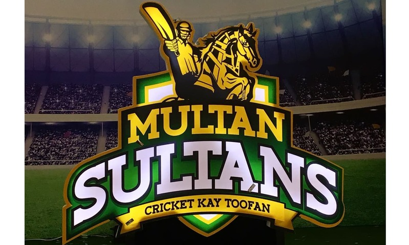 Multan Sultans — the sixth PSL franchise, owned by the Schon Group — unveiled their logo and kit on Friday. —Photo by Author