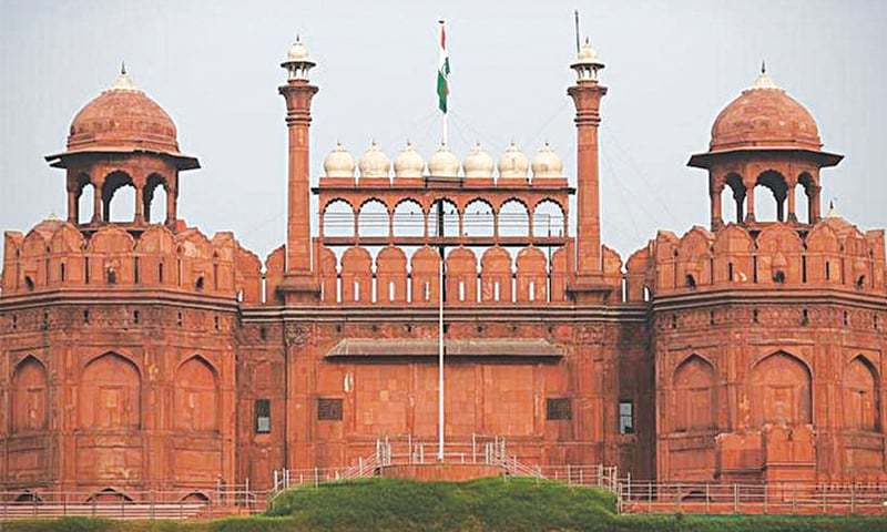 The Red Fort in Delhi, built by the Mughal emperors, is the site of the Indian premier's annual independence day address to the nation, a practice in place since 1947 | Reuters