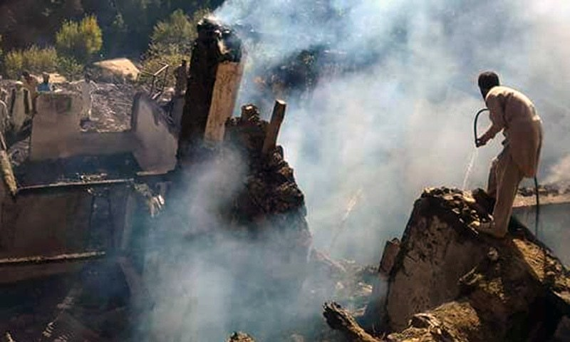 6 siblings burnt to death in Upper Dir