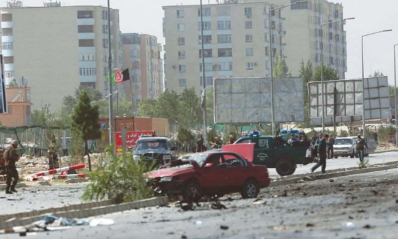 Vehicle bomber hits North Atlantic Treaty Organisation convoy in Kabul