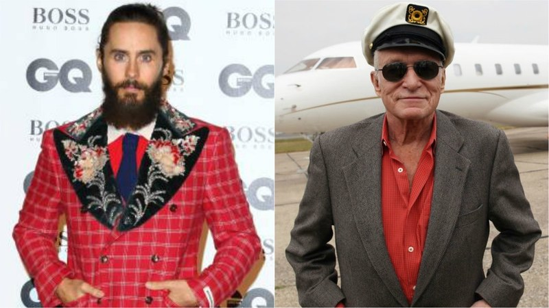 Jared Leto will be Hugh Hefner