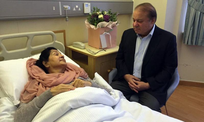 Kulsoom Nawaz to undergo first chemotherapy session, says Maryam