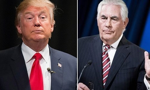 Trump suggests he's smarter than Tillerson