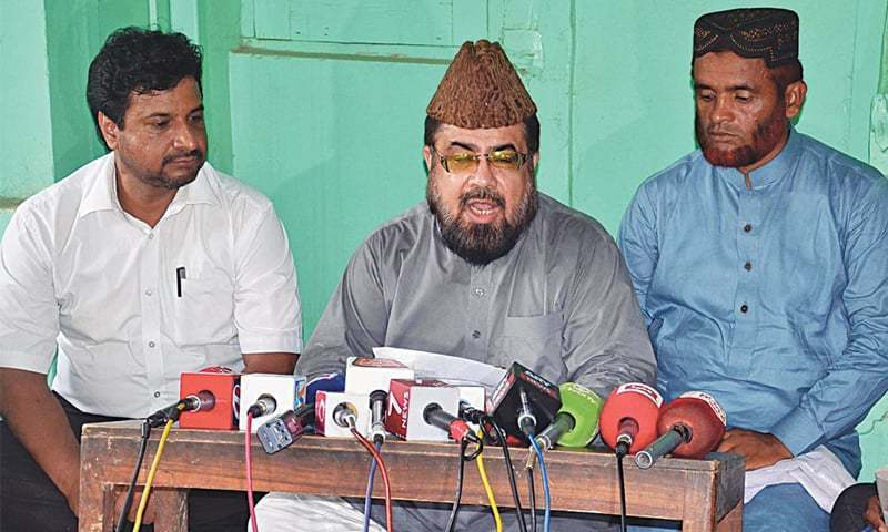 Mufti Qavi appears before court in Qandeel murder case for the first time