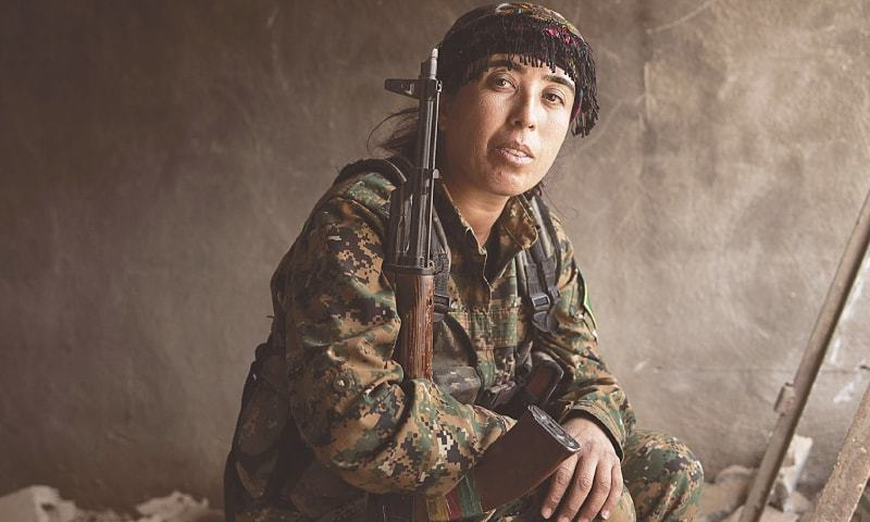 Rojda Felat — female commander who led Raqa battle