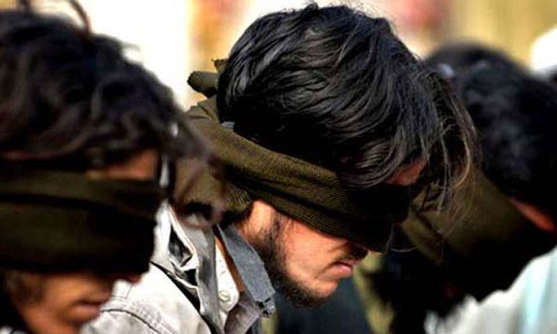 Three 'TTP militants' held, mines seized