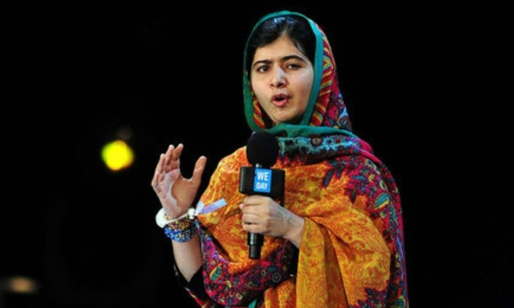 Malala continues to stand tall, above and beyond the country's patriarchal mindset, wherever she goes