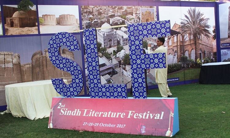 People from various parts of Karachi as well as other cities of the province attended Sindh Literature Festival. Photos by Ayesha Ali