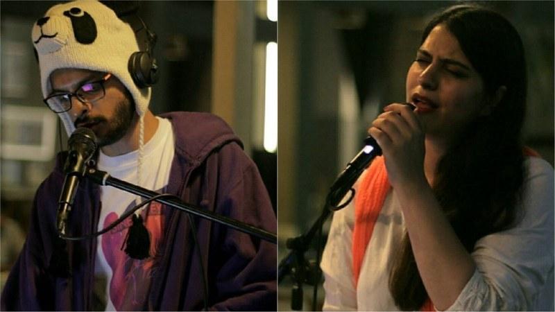 Daniel Arthur Panjwaneey and Natasha Noorani perform at the 2nd Sine Valley festival in Kathmandu