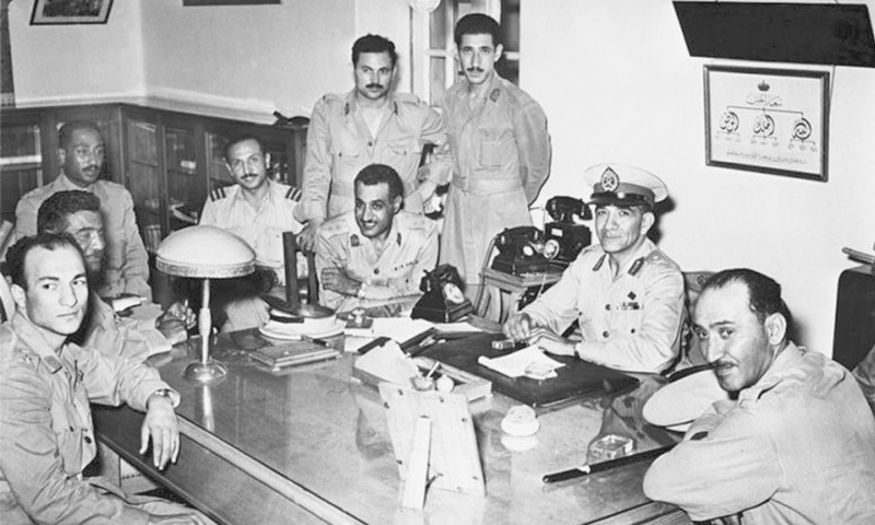 The men who brought down the monarchy   AFP
