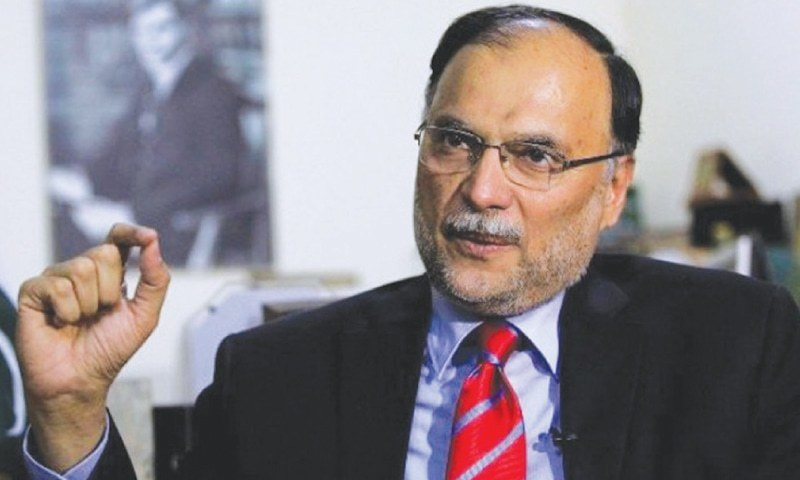 INTERIOR Minister Ahsan Iqbal rules out the possibility of holding elections on the basis of the 1998 census.