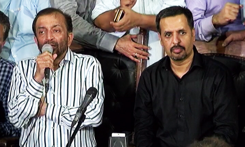 'Hold your breath, it's our turn now': Mustafa Kamal to Farooq Sattar