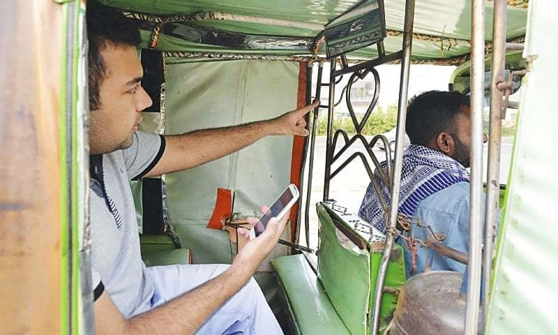Online ride-hailing services have significantly dented the income of conventional rickshaw and taxi drivers.