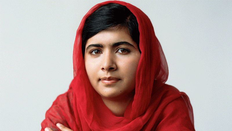 The Pakistani-born activist joins the likes of Amal Clooney, Emma Watson and J.K. Rowling.