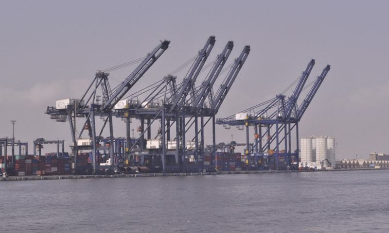 Pakistan Deep-Water Container Terminal is designed to accommodate mother ships.