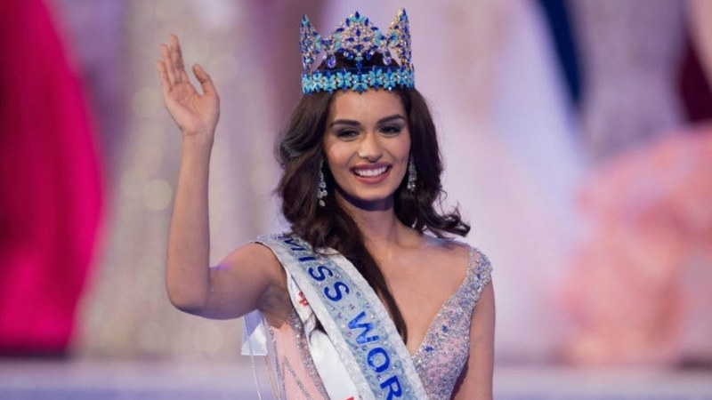 Manushi Chhillar is a med student with Indian classical dance training and a passion for painting — AFP