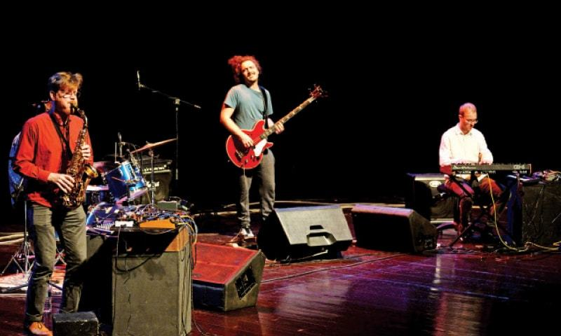 German band C.A.R. performs at the PNCA on Sunday. — White Star