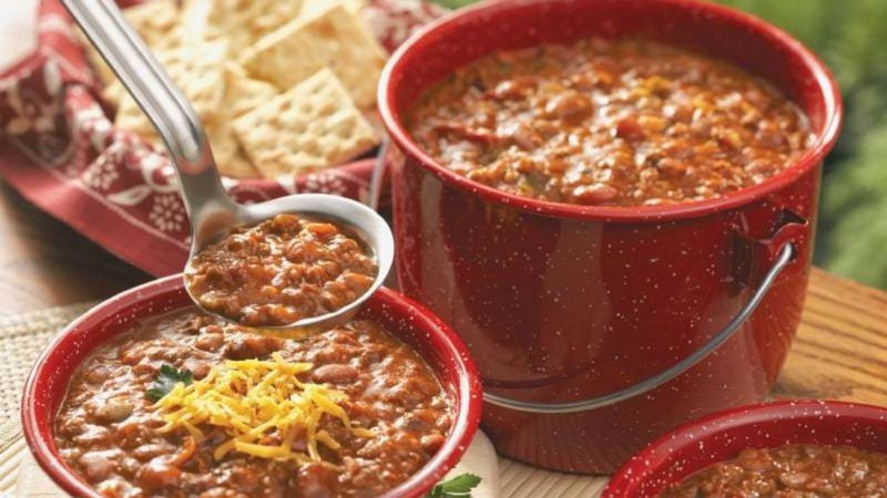 The protein-packed beans are incredibly filling, while heat from the chilli powder helps to warm the body up