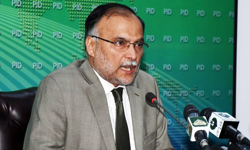 Interior Minister clarifies position on Faizabad sit-in operation. —Online