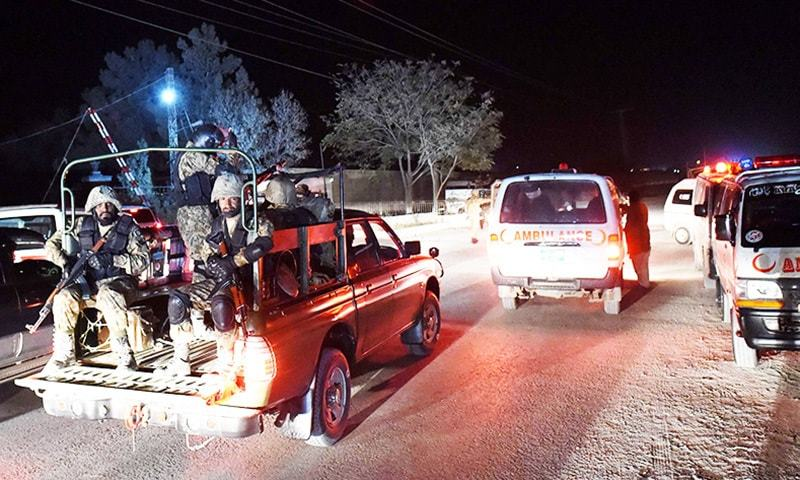 4 Soldiers Killed In Naushahro Feroze Road Accident Pakistan