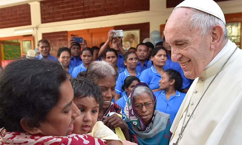 Pope Uses Word 'Rohingya' in Public for First Time on Asia Trip