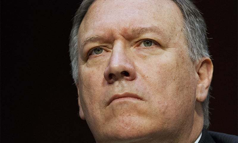 CIA Director Mike Pompeo listens while testifying on Capitol Hill in Washington. ─AP