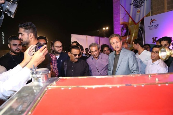 Mayor Wasim Akhtar was also among the attendees
