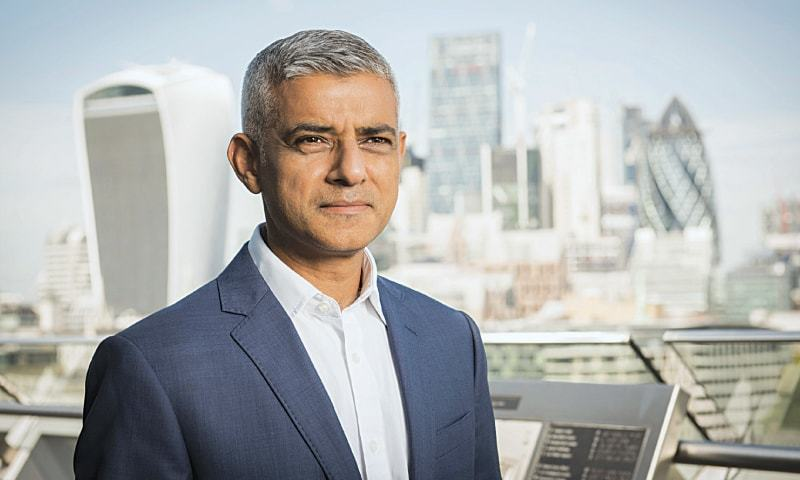 Mayor of London Sadiq Khan arrives in Pakistan today.