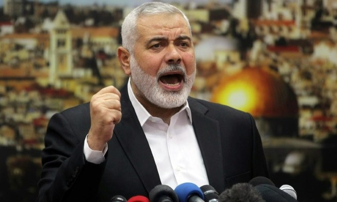 Hamas leader Ismail Haniya calls for a new Palestinian uprising over US President Donald Trump's decision to recognise Jerusalem as the capital of Israel. —AFP