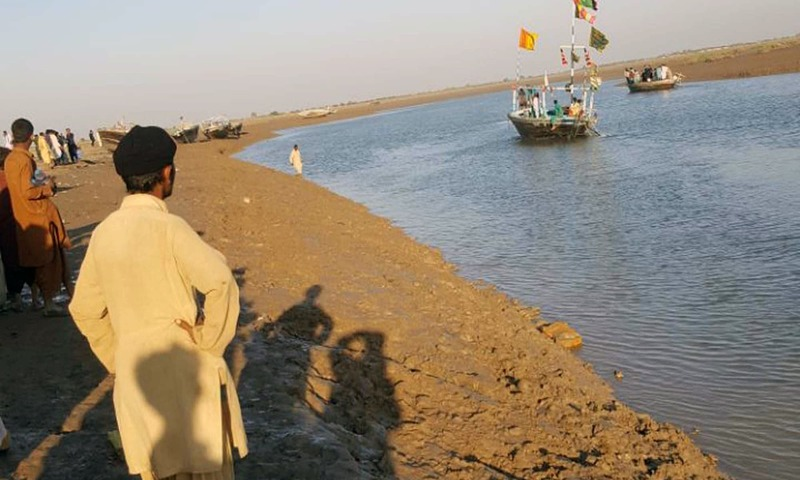 Thatta DC Nasir Baig says the boat was carrying 60-70 passengers. —PPI