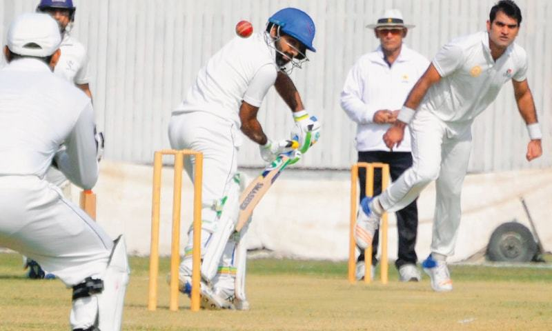 Waqas Ahmed bowls fabulous spell of 5/40 in Round 2 of Quaid-e-Azam Trophy (Super 8)