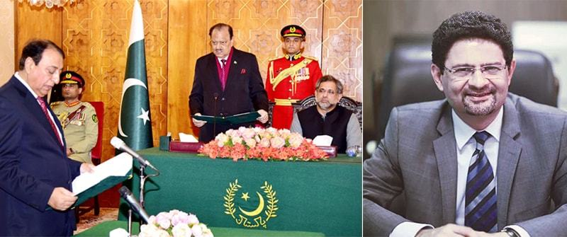 ISLAMABAD: Rana Mohammad Afzal takes oath as state minister for finance on Tuesday. Miftah Ismail has been appointed as adviser on finance, revenue and economic affairs with a status of federal minister.