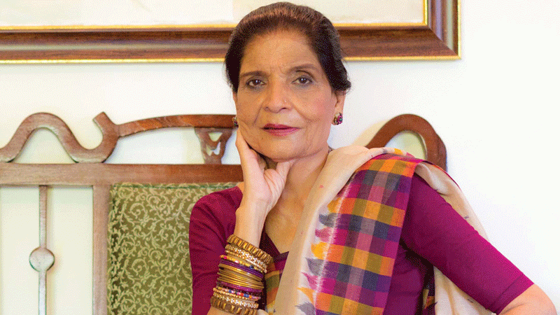 Eminent chef and media personality Zubaida Tariq paases away