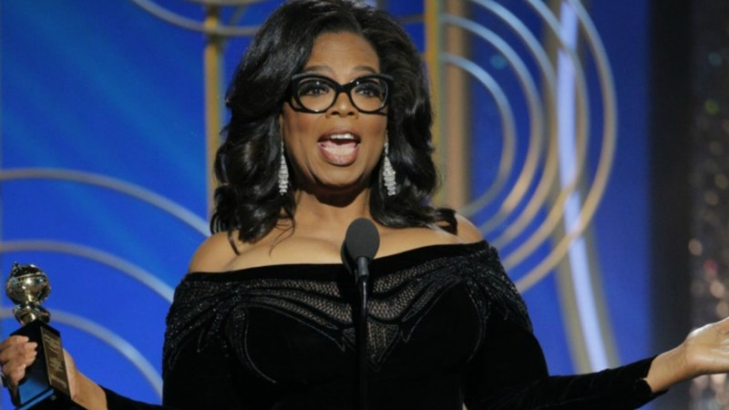 Oprah for president? Speech ignites frenzied U.S. speculation