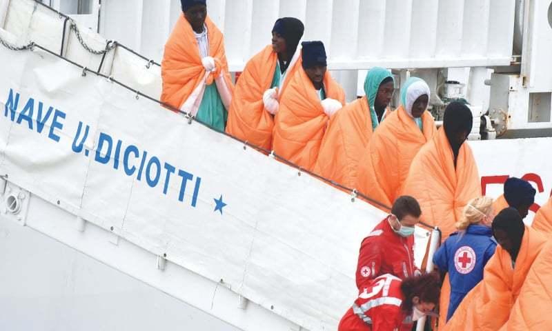 64 migrants probably died in Mediterranean boat sinking