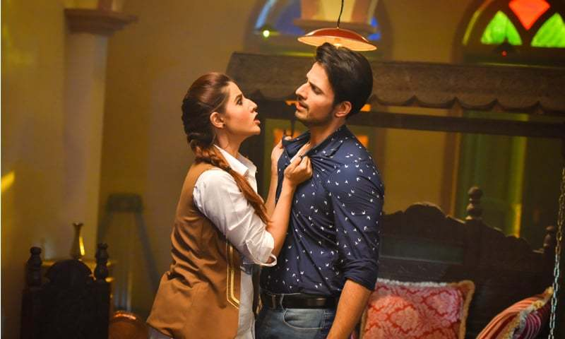 Like most things inParchi, Eman's (Hareem Farooq) actions make little sense
