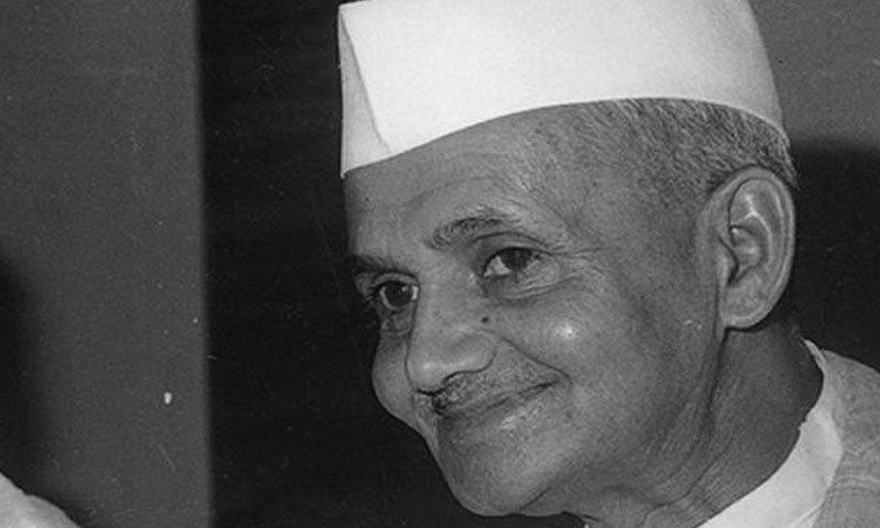 لال بہادر شاستری بھارت کے دوسرے وزیر اعظم تھے—فائل فوٹو: انڈیا ٹی وی