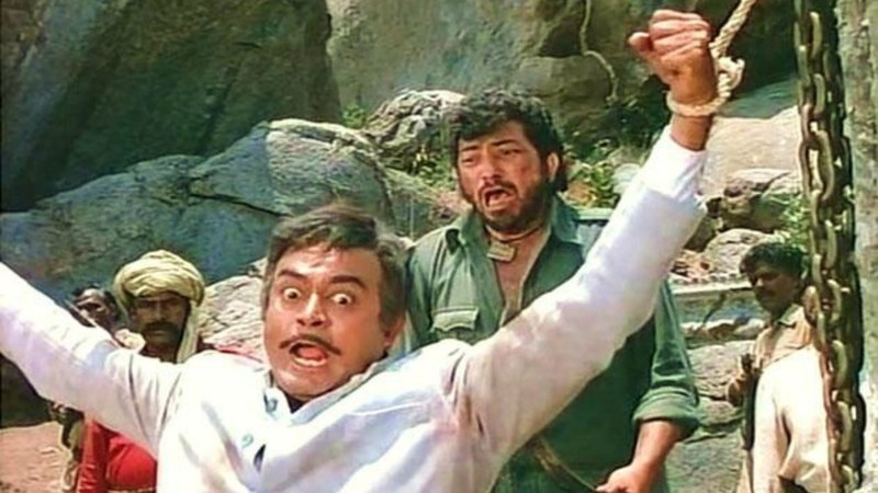 """I had shot a different ending for Sholay, where Gabbar is killed by Thakur. But they didn't allow that,"" said director Ramesh Sippy"