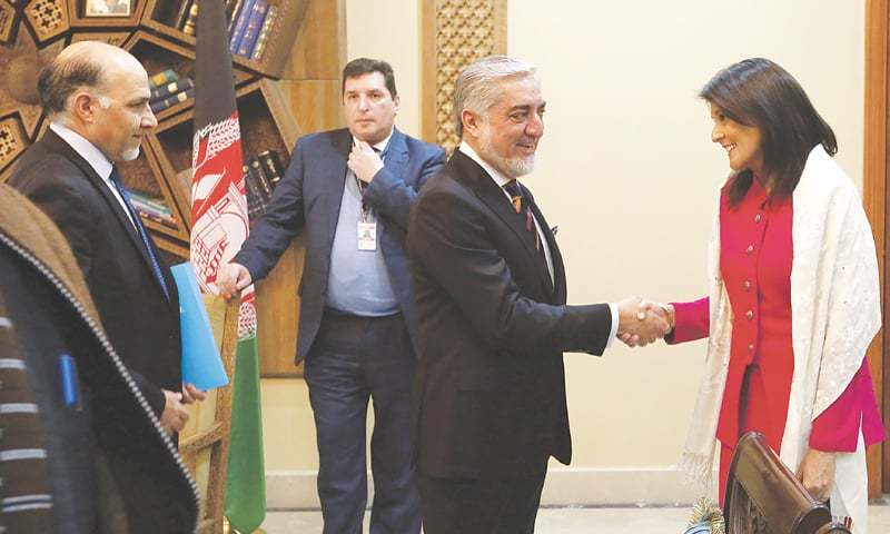 UN Security Council Diplomats Travel To Kabul For Firsthand Look