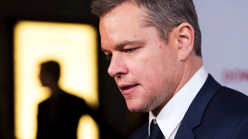 Matt Damon apologises for his comments on sexual misconduct