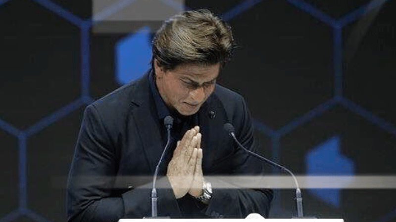 Shah Rukh Khan 'extremely charged' after receiving 24th Crystal Award