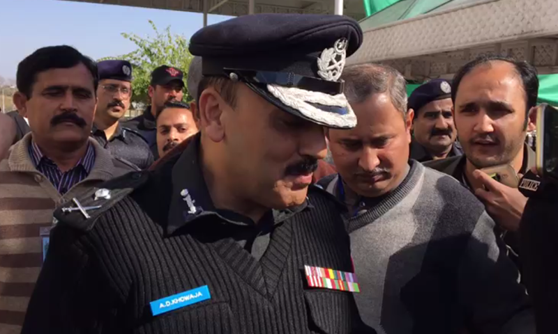 Sindh Inspector General of Police A.D. Khowaja appears in SC on Thursday.— DawnNews